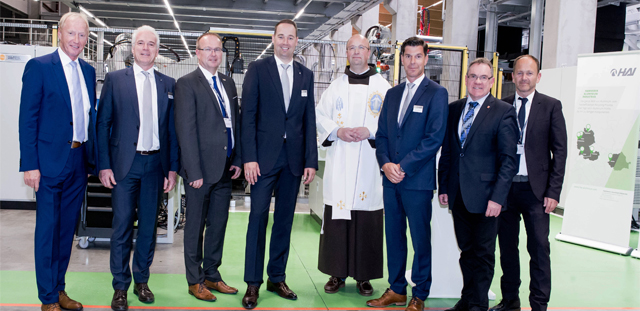 Hammerer Aluminium Industries (HAI) opened a new production hall in Ranshofen